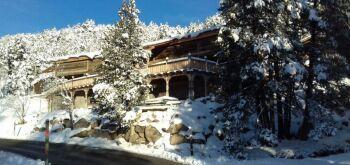 Ker Capcir - le chalet Capcir et sa grande terrasse