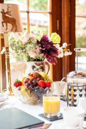 Dining Room Breakfast setting