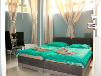 Doppelbett oder zwei Einzelbetten-Budget-Gemeinsames Badezimmer - Standardpreis