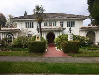 The Villa - Front View from 5th St.