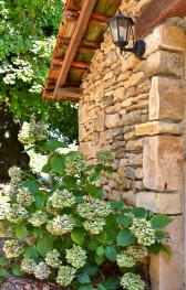 Détail fleuri jardin Domaine de la licorne