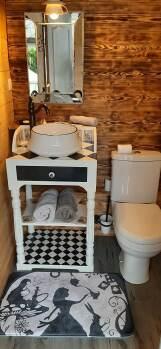 salle de bain extérieure de Mister Jack