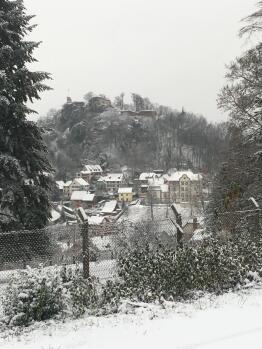 Vacances d'hiver  en Alsace à la Maison des Fontaines