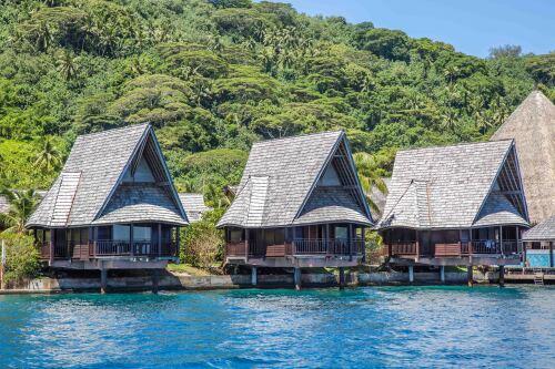 Bungalow-Panoramique-sur Pilotis-Vue mer-Salle de bain - Tarif de base