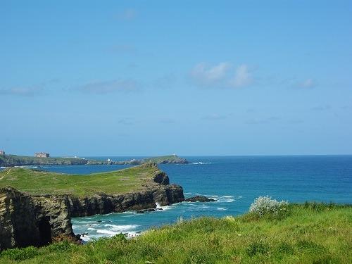 Porth coastline