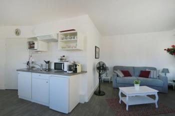 Cuisine et salon_chambre