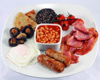 The Famous Blackhorse Full Monty Breakfast