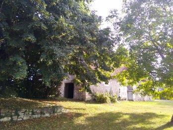 vue du salon - côté Grange