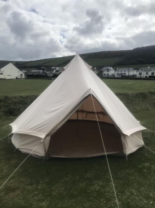 Tent-Communal washroom facilities-Partial sea view-4m Bell Tent
