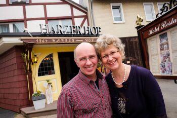 Ihre Gastgeber Petra Döring-Menzel und Dieter Menzel