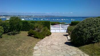 La mer vue de la villa