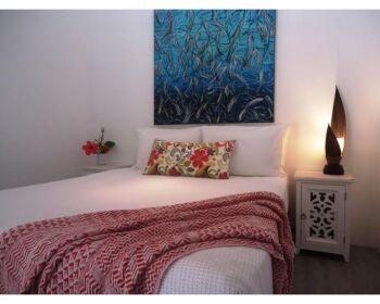 Comfy Bed & Original Art