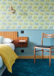 Chambre 4 de l'hôtel La Cascade