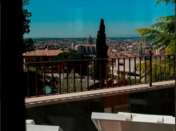 MONTJUIC B&B terraza