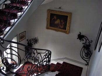 Grand escalier 18e siècle
