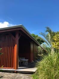 Entrée bungalow