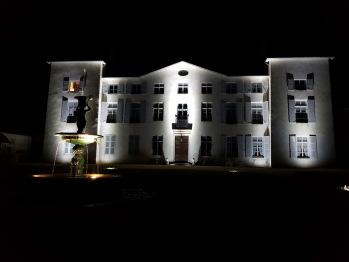 Château des Périchons nuit
