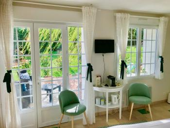 Claude Monet room with Te-Twin room-Deluxe-Ensuite with Shower-Terrace