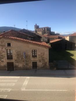Vistas del pueblo desde el hotel