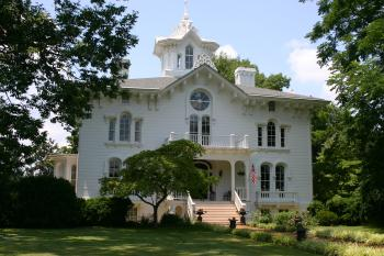 The Mayhurst Manor House is a unique example of the Italianate Victorian Architecture.   History took place here and it is recognized in the National Registry of Historic Places and Virginia Landmark listings.