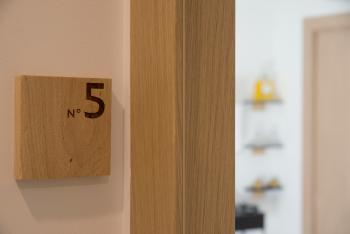 Chambre N°5 signage