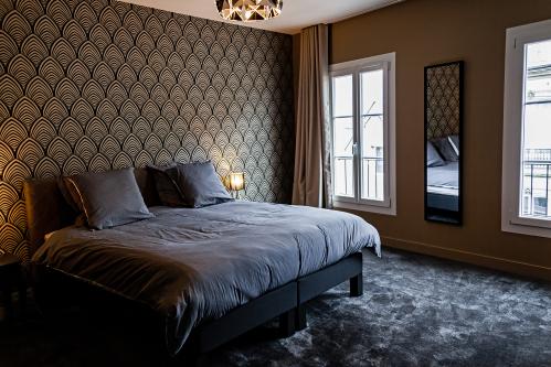 chambre lit 180 cm