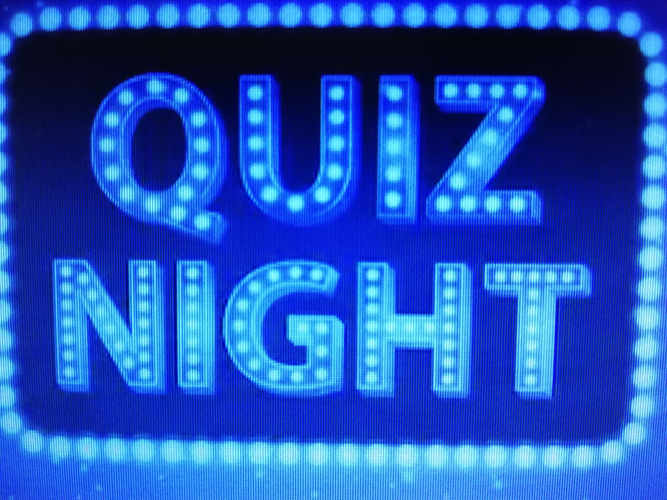 Quiz Night Held Every 1st Tuesday of the Month