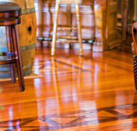 Beautiful Restored 1913 Pine And Walnut Floors