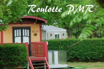 Roulotte-Confort-Salle de Bain amenagée-Vue sur Parc-PMR - Tarif de base