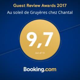 Award Booking 2017 : 9,7/10