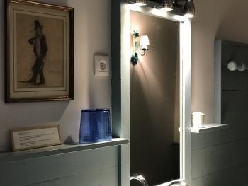 Salle de bain Rose Calamine