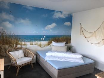Doppelzimmer-Apartment-Ensuite Dusche-Terrasse