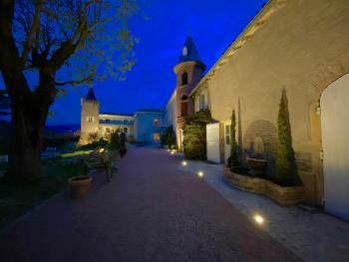Château des Janroux Extérieur nuit