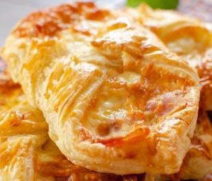 Cheese & Bacon Turnover
