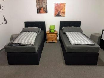 Doppelzimmer-Eigenes Badezimmer-Doppel getrennte Betten - Doppelzimmer-Eigenes Badezimmer-Doppel getrennte Betten