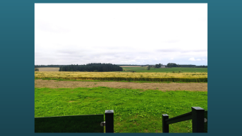 Rolling countryside views just 3 miles from St Andrews town
