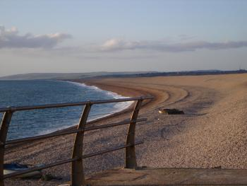 Evening on Chesil Beach