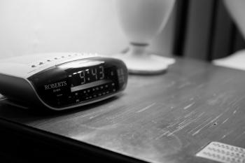 All of our rooms have a digital radio alarm clock