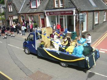 Seamore House - Moffat Gala Day Parade - July