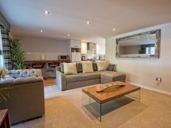 Garthill Lodge - Lodge Living Room