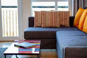 Comfortable Sofa Beds available in all Apartments