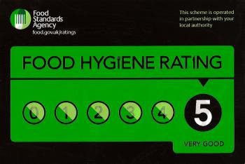 Food Standards Top Rating