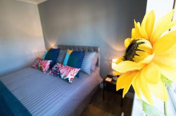 Ideal Home away from home between Bury and Fairfield - comfy double bedroom for a great peaceful nights sleep