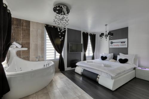 Appartement-de Luxe-Bain à jet-Vue ville-Suite & spa - Tarif de base
