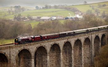 Ride the Settle to Carlisle Railway