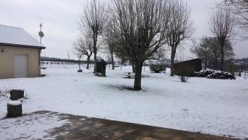 Les gîtes sous la neige