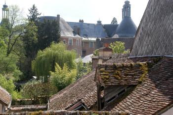Vue sur le château depuis la chambre Jacques Coeur