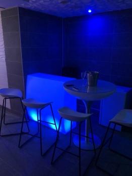 Bar aux bains Lounge avec frigo