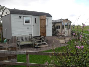 The Shepherds Hut - The Hut and Sunroom