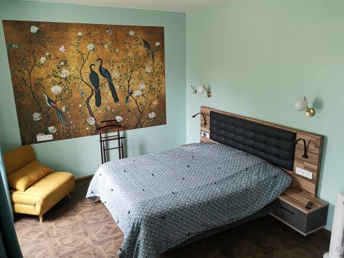 Suite-Confort-Salle de bain Privée-Vue sur Jardin-TV
